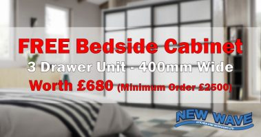 Free Bedside Cabinet Offer