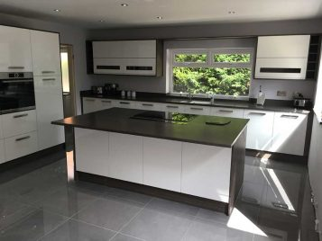 Zola Painted White Gloss Kitchen