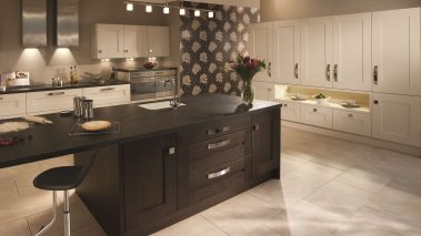 Clonmel Black Brown Kitchen