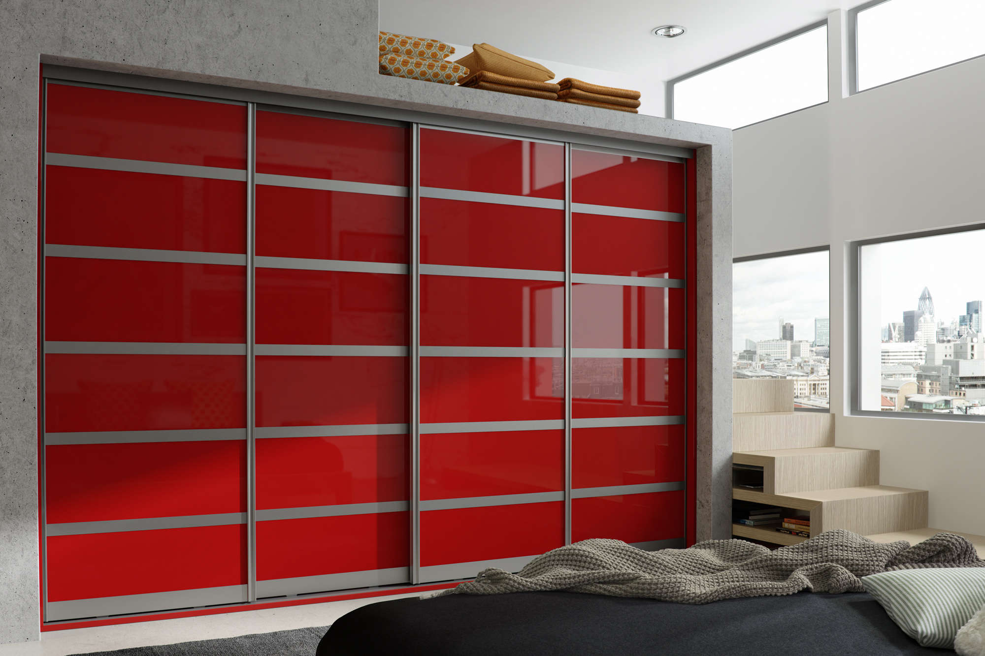 Red Chilli Gloss Mirror