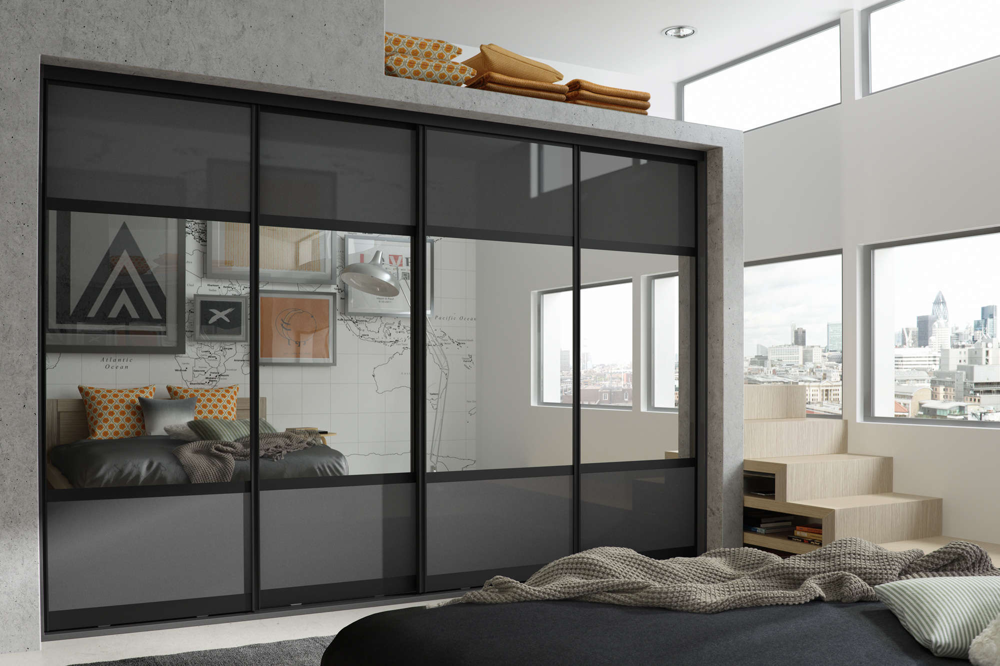 New Wave Bedrooms Bespoke Sliding Wardrobes In Leeds