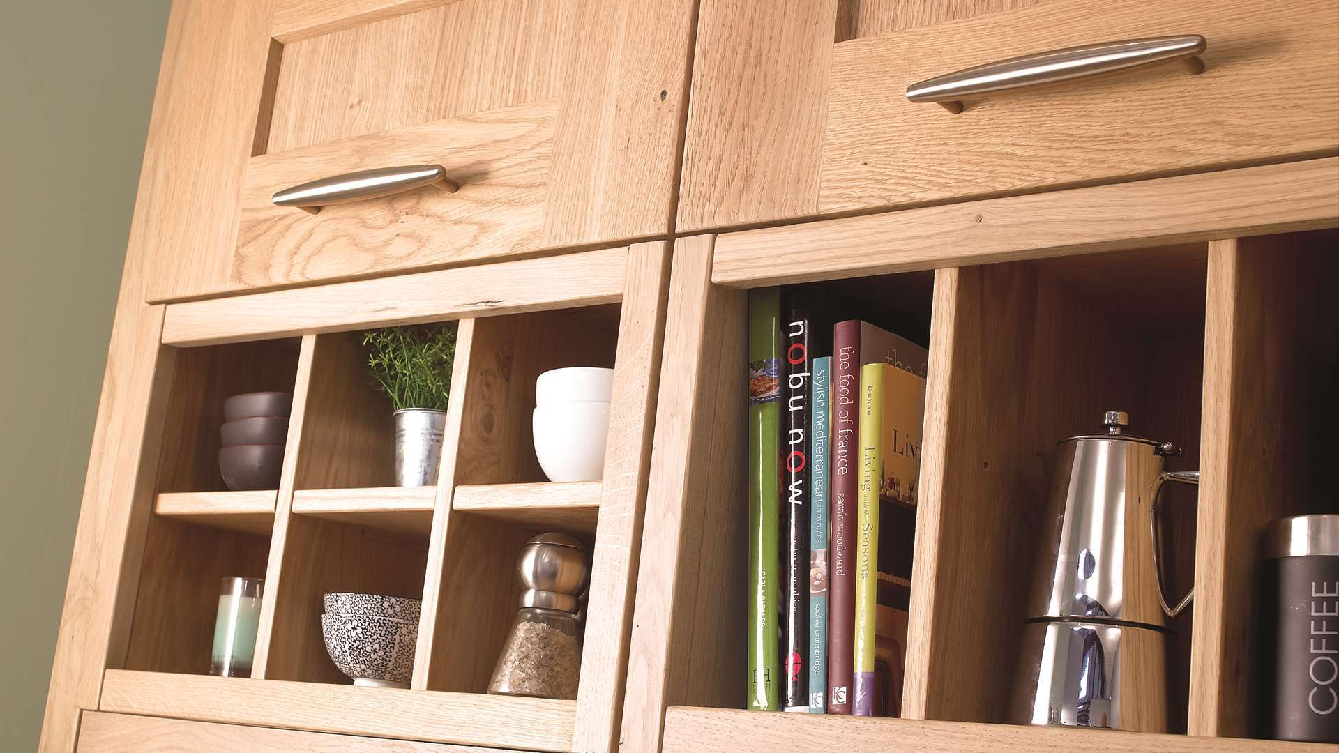 Clonmel Knotty Oak Shelving Unit