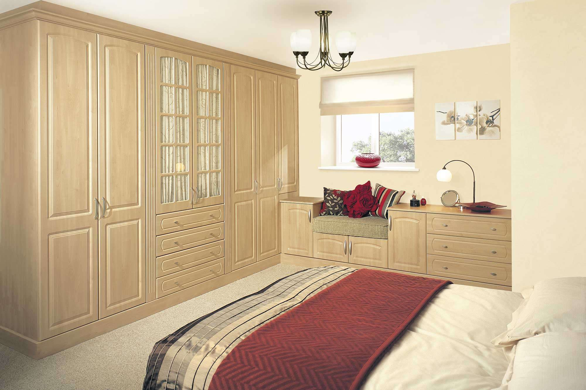 York Swiss Pear Bedroom