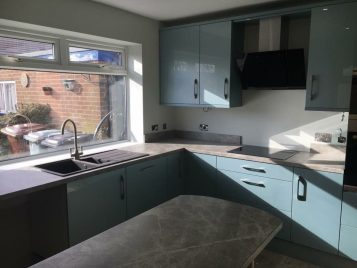 Gloss Kitchen Design Leeds