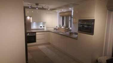 Gloss White Kitchen Pudsey
