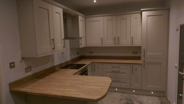 White Wooden Kitchen Leeds