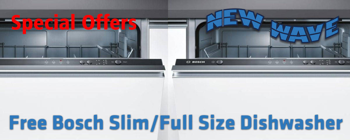 Free Dishwasher with Orders Over £4000