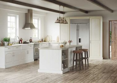 Cottage - Painted Oak White & Painted Oak Mussel