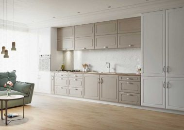 Madrid - Painted Oak Stone Grey & Painted Oak White